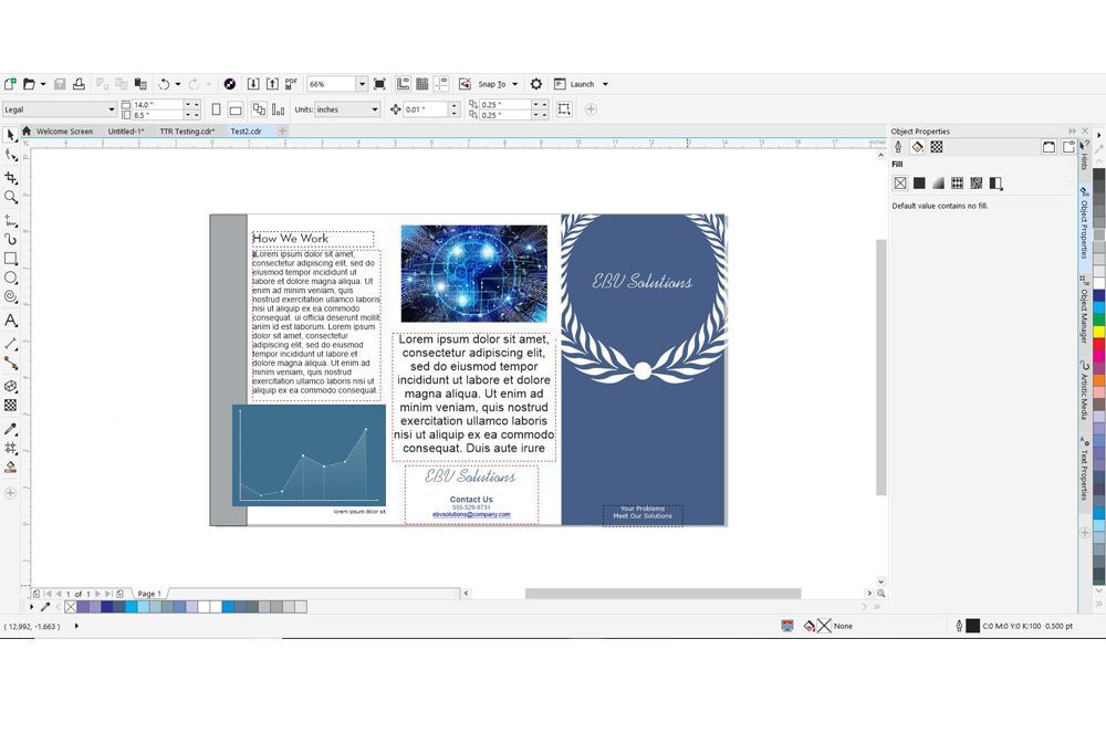 How Can You Import Text To Coreldraw From Word