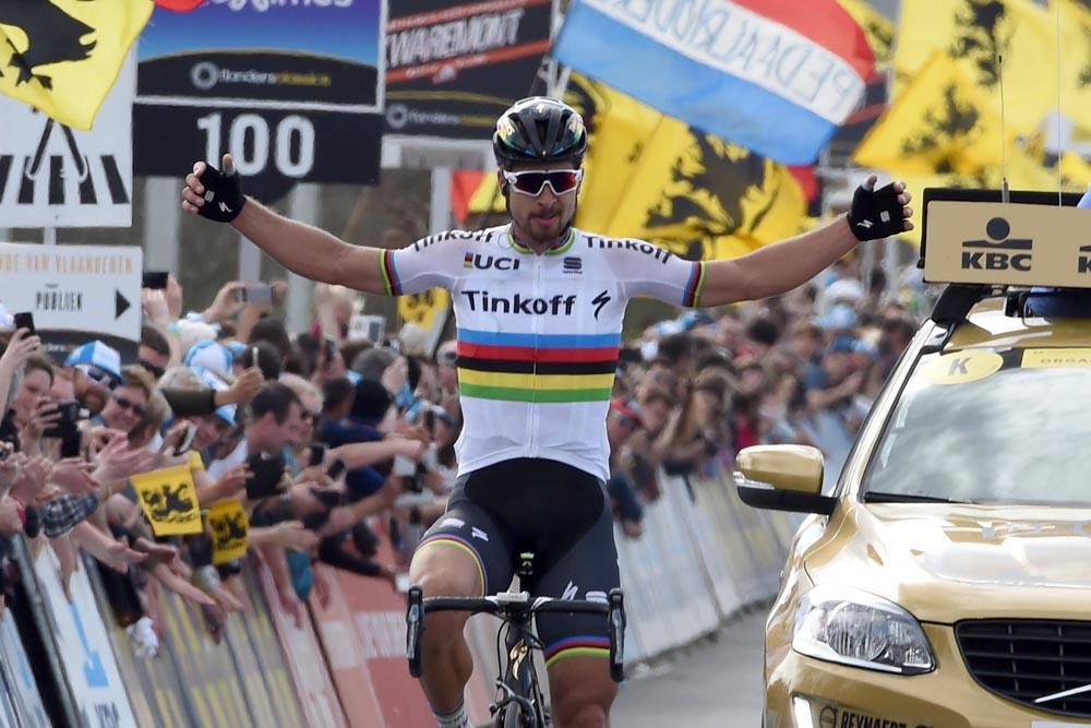 Peter Sagan wins 2016 Tour of Flanders