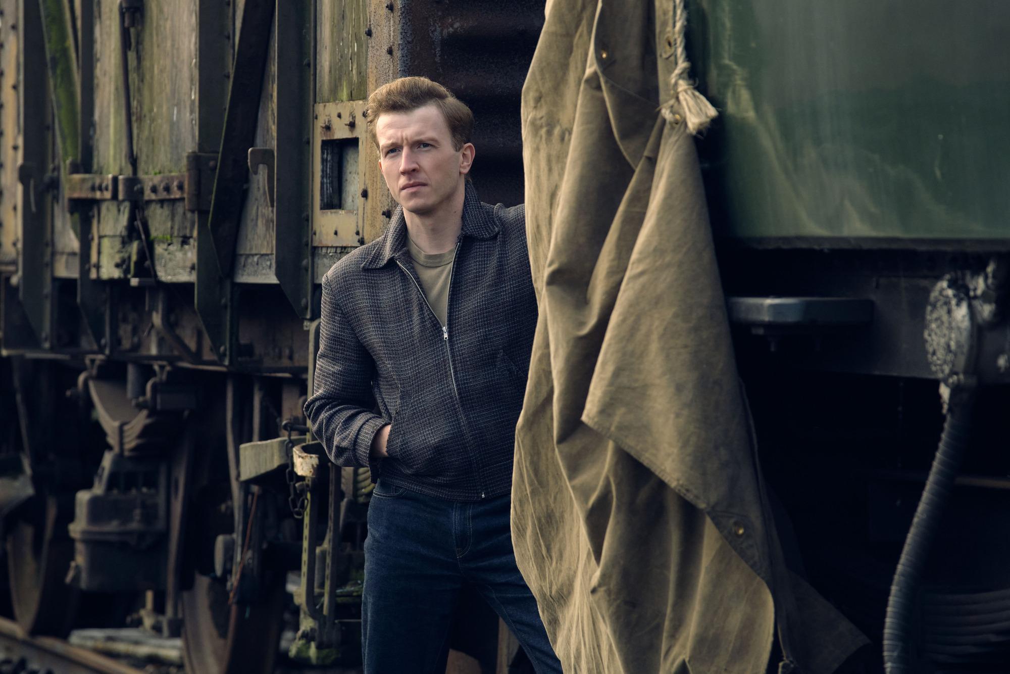 Tom Varey como Jack Morris, amante de Vivien y miembro acérrimo del movimiento antifascista The 62 Group en Ridley Road.