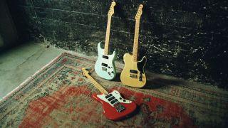 Fender's new Noventa line guitars