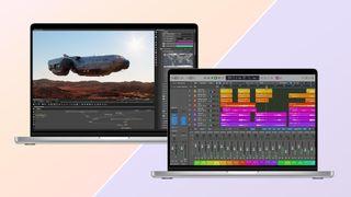 MacBook Pro 14-inch 2021 vs MacBook Pro 16-inch 2021 side by side