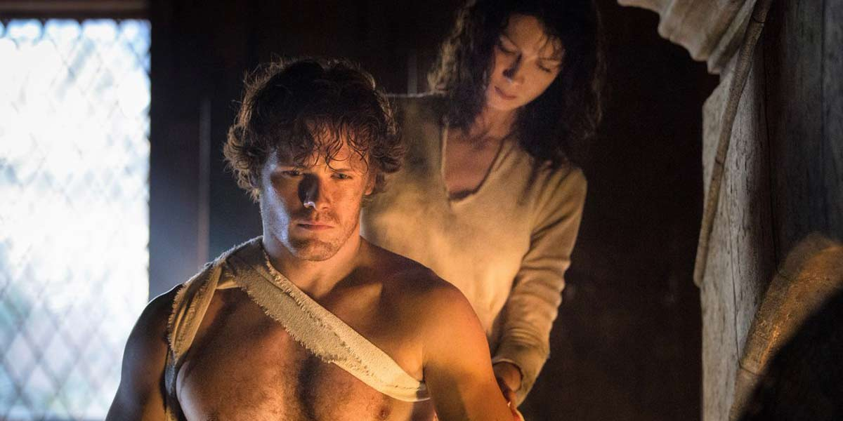 Jamie And Claire learn about each other in Outlander