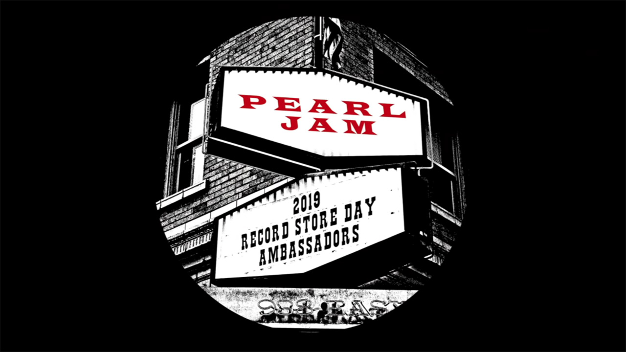 Pearl Jam are named Record Store Day 2019 ambassadors