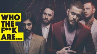 a press shot of imagine dragons