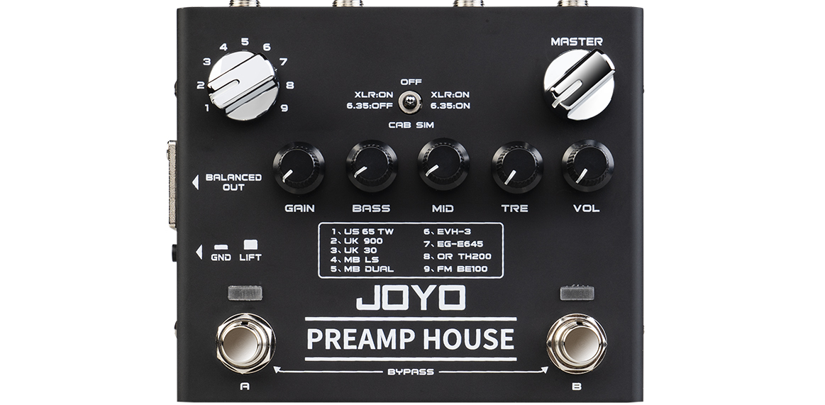 Joyo's new R-15 packs 9 classic preamps into one pedal | MusicRadar
