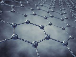 a 3D model of graphene