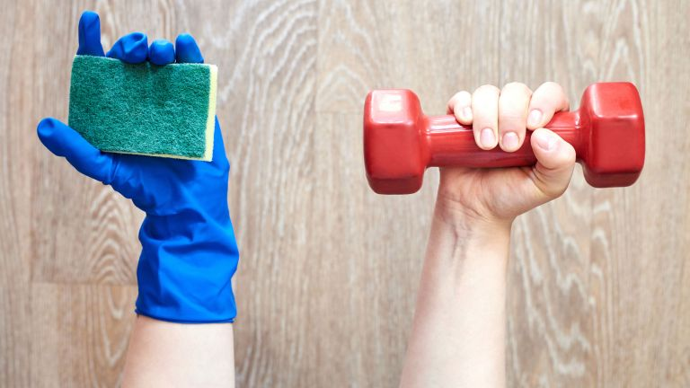 How to clean home gym equipment