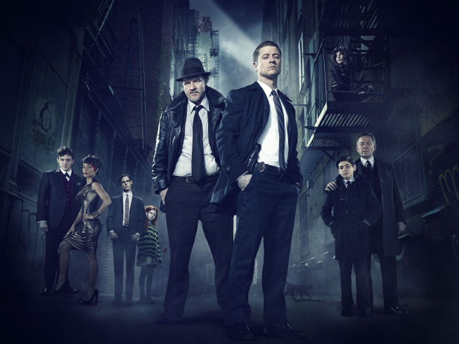 New Gotham Photos Tease Violence, A Funeral And A Little Bit Of Gotham City Glamour #31298