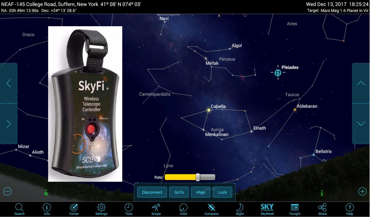 Supercharge Your GoTo Telescope with Wireless Smartphone Control | Space