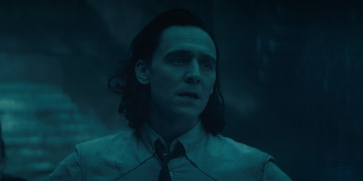 loki standing in time-keepers' chamber on loki episode 4