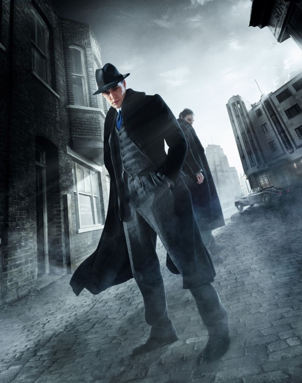 Tom Bateman as Jekyll and Hyde in the new ITV series