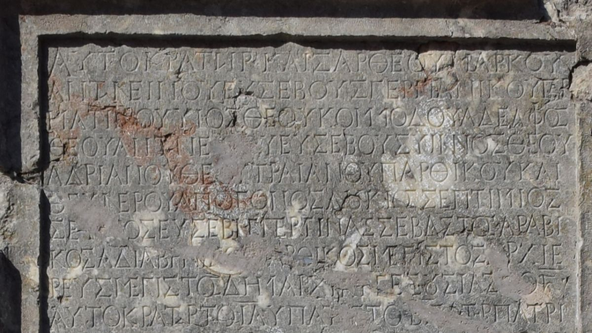 Roman subjects paid emperor piles of silver to leave them alone, inscription reveals