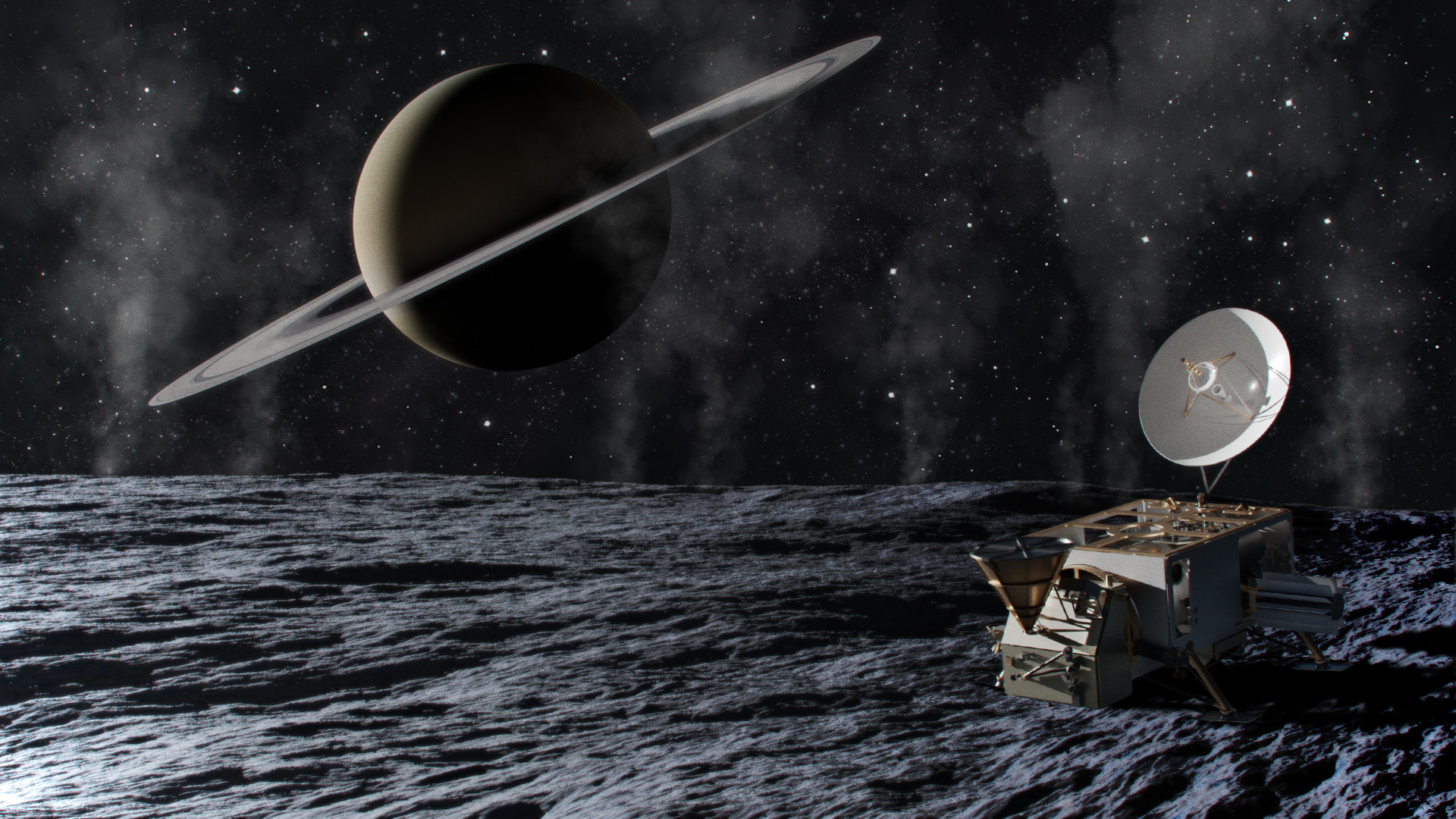 Research Team Just Discovered Signs of Life on One of Saturn's Moons!