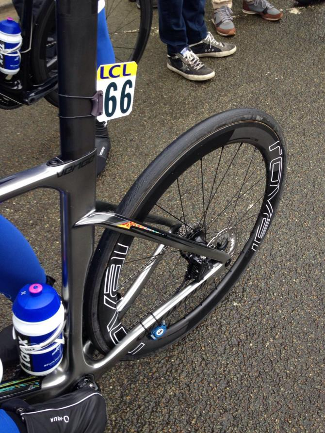 Marcel Kittel returned to disc brakes at Paris-Nice.