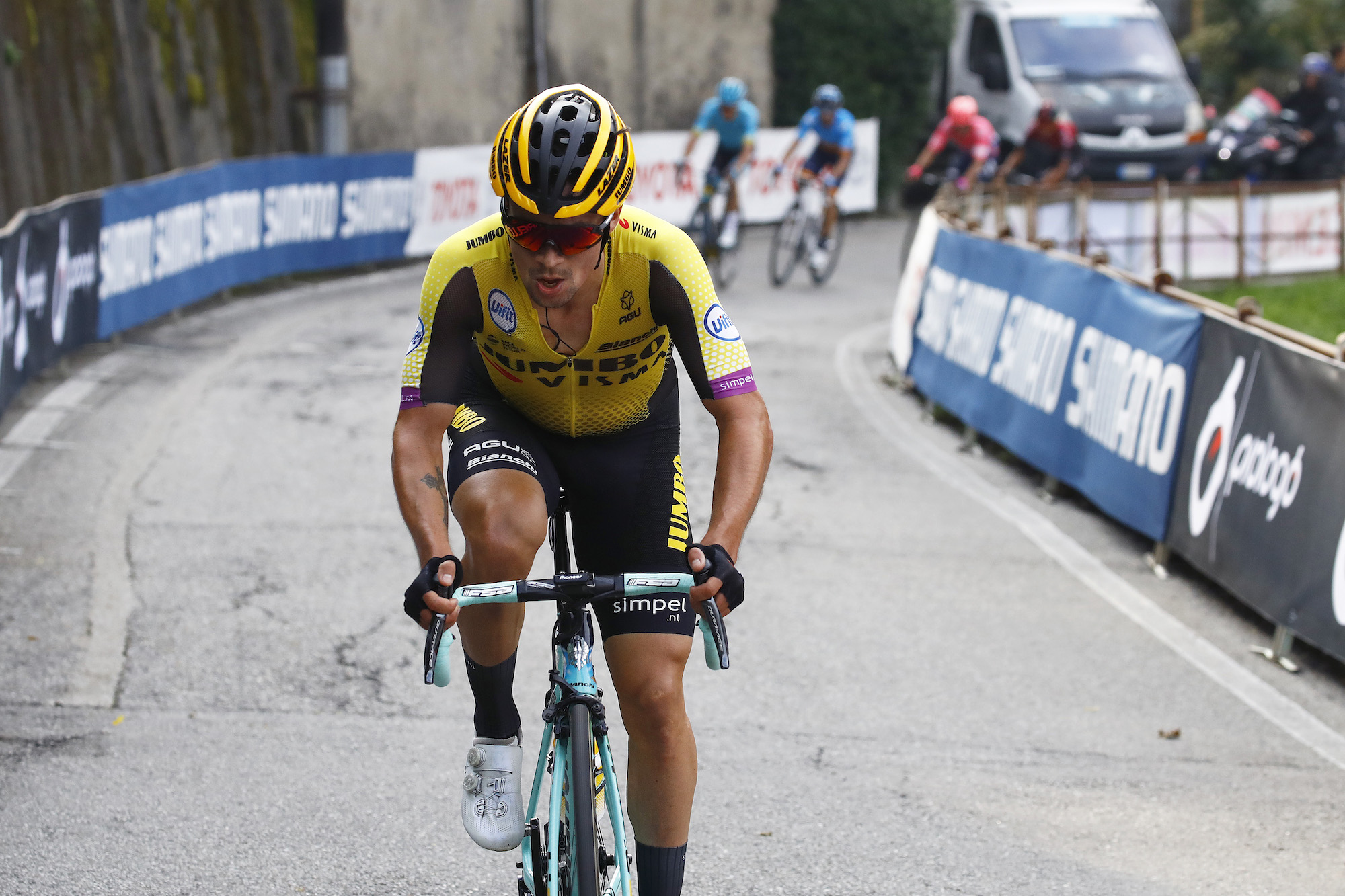 Primoz Roglic S Most Successful Season Sees Him Ranked Number One Rider In The World Cycling Weekly