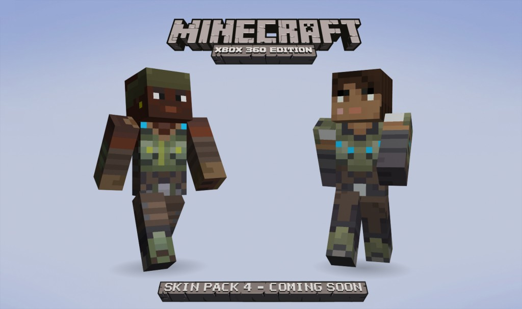 Minecraft Xbox Edition Skin Pack Arrives Retail Release Announced - Skins minecraft para la 1 8