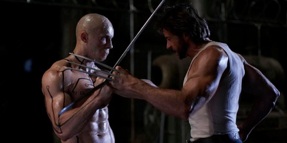 Ryan Reynolds and Hugh Jackman in X-Men Origins: Wolverine