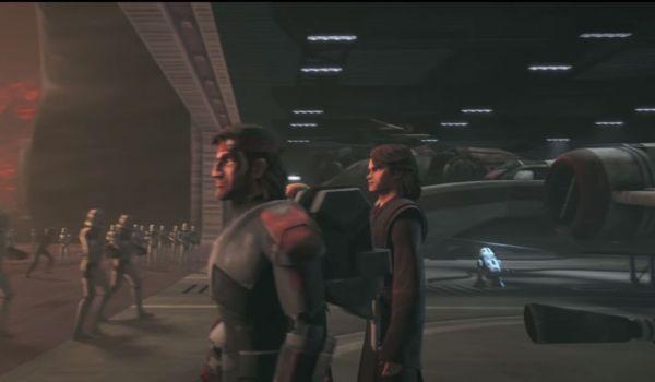 Star Wars The Clone Wars teaser with Anakin Skywalker