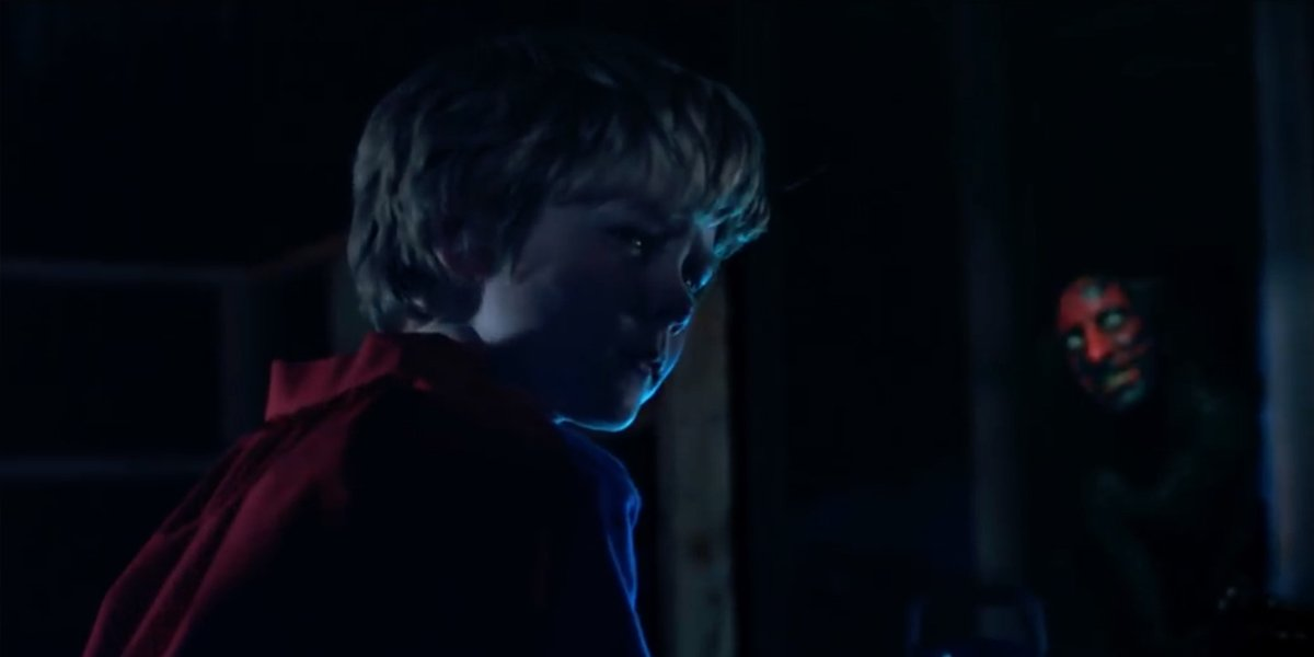 Insidious (2010) Caleb with the demon