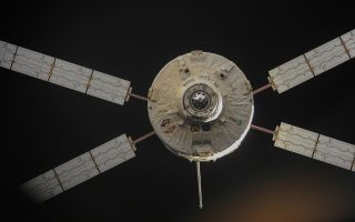 ATV-4 Undocks from ISS