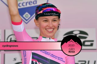 Kasia Niewiadoma (Canyon-SRAM) leads the 2019 Giro Rosa