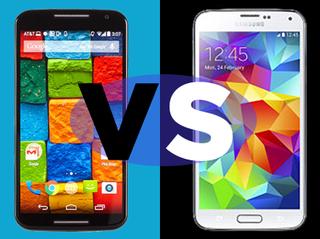 Samsung Galaxy S5 Vs Moto X Smartphone Face Off Toms Guide