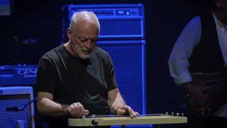 David Gilmour onstage