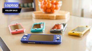 Skip the OLED Nintendo Switch, this Switch Lite bundle includes a free memory card