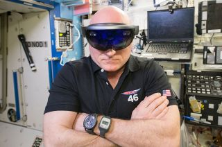 Scott Kelly Wears Breitling Chronograph