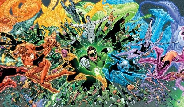 Green Lantern Emotional Spectrum