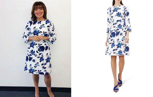 414785e5 Lorraine Kelly's High Street Dresses - from Hobbs to Zara