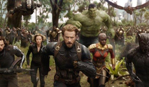 Avengers: Infinity War Captain America and crew storm Wakanda