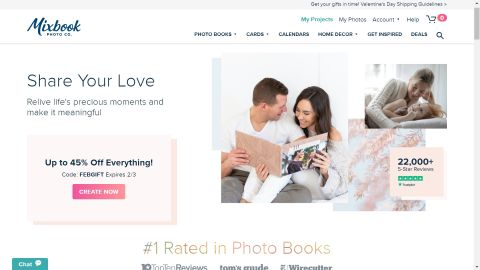 Mixbook Photo Books review