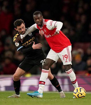 Arsenal v Manchester City – Premier League – Emirates Stadium