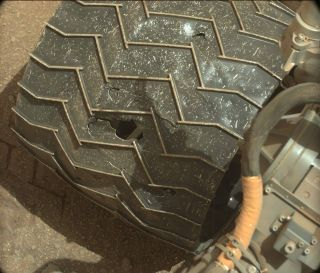 Curiosity Wheel Image