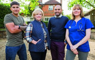 Unruly pets cost £4bn in damage to our homes each year and bad behaviour is the number one reason for rehoming - enter the team from Nightmare Pets SOS