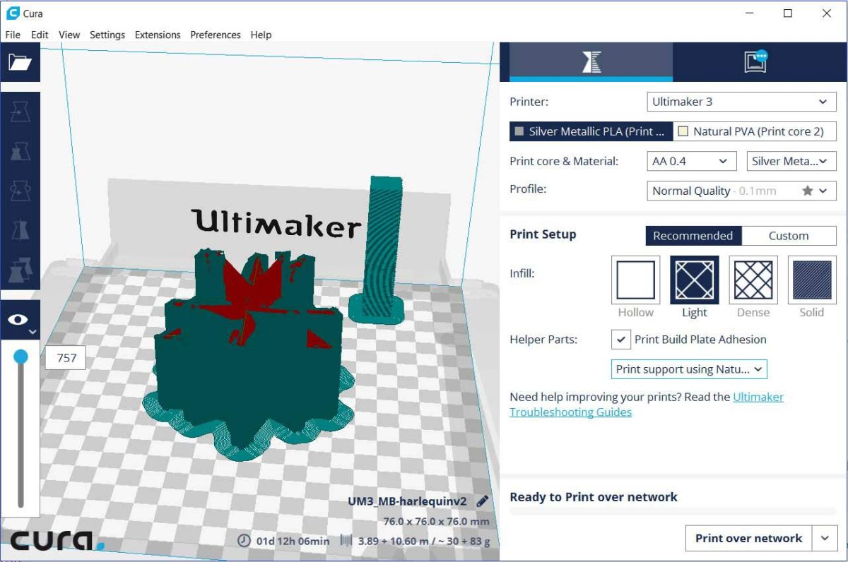 Ultimaker 3 3D Printer Review: High-Quality Prints, for a