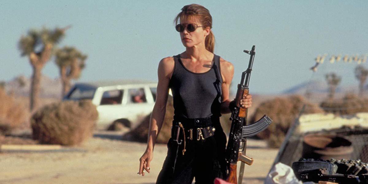 Sarah Connor in Terminator 2: Judgement Day