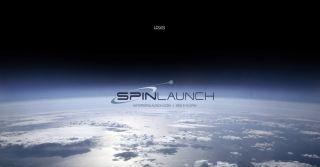 Screenshot of SpinLaunch's password-protected website