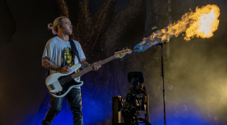 The Hella Mega Tour, headlined by Green Day, Fall Out Boy and Weezer, relied on an acquisition, control and delivery solution from Blackmagic Design for live big screen content and unique video backdrops.