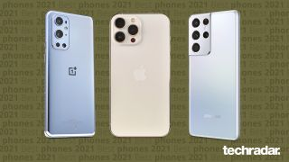 The OnePlus 9 Pro, iPhone 13 Pro Max and Samsung Galaxy S21 Ultra all feature in our best phone list