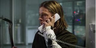 Brad Pitt Gerry Lane World War Z