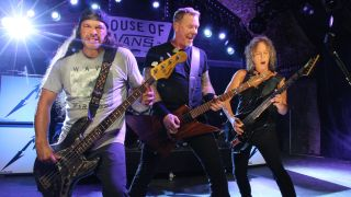 Metallica perform at London's House Of Vans