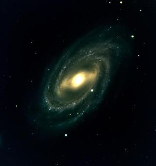 The barred spiral galaxy M109