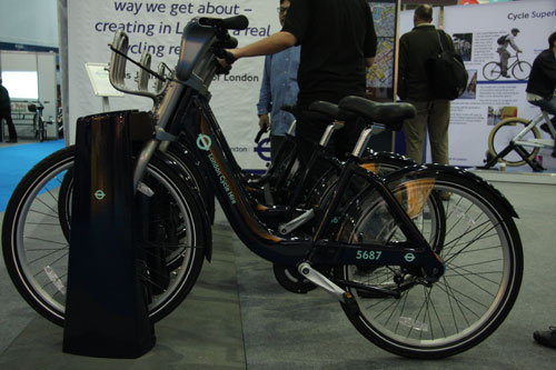 Cycle Hire scheme, Cycle Show 2009