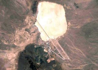 area 51 aerial view