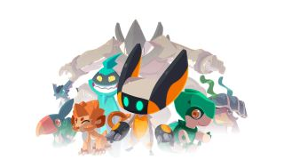 A gathering of Temtem creatures