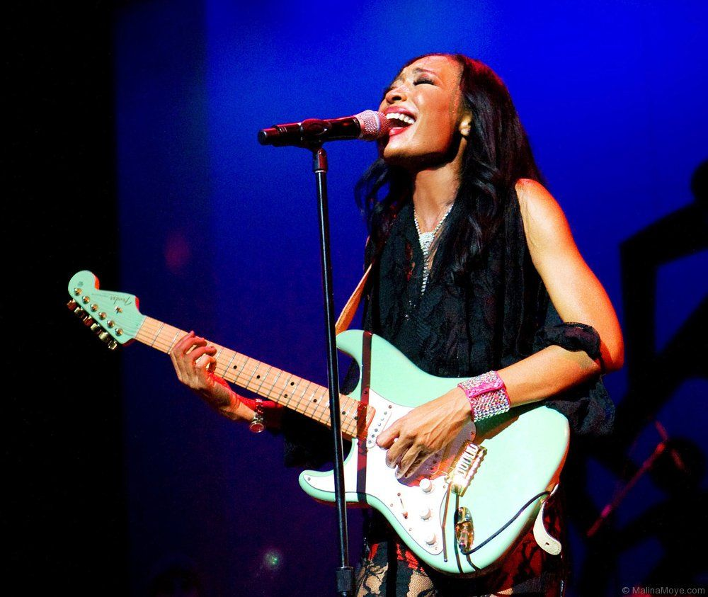 'Rock & Roll Baby': Guitarist Malina Moye Brings Hendrix Influence and Blues Power to New Album
