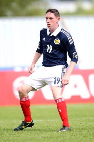 Soccer – International Challenge Match – Scotland U19 v Germany U19 – The Falkirk Stadium