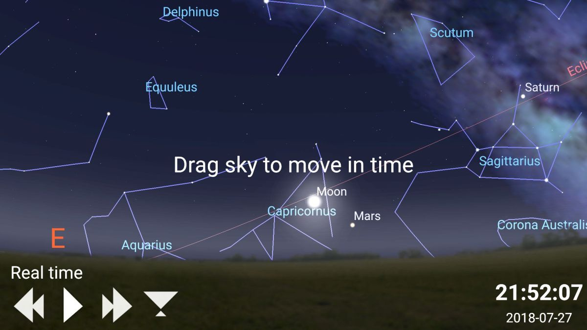How to Use Mobile Apps to Watch Mars' Closest Approach Since